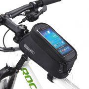 Bolsa Celular para bicicleta Preta Roswheel