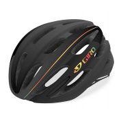 Capacete Giro Foray MTB Speed Preto Vermelho Firechrome