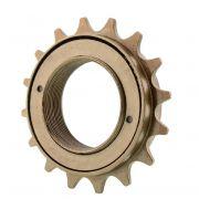 Catraca Roda Livre 16 dentes Dourada Bike - WG Sports