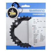 Coroa Shimano Alivio M4000 M4050 30 Dentes Bcd 96mm + Brinde