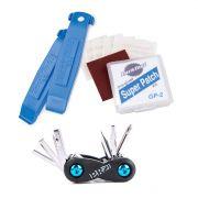 Kit Canivete Minitool Shimano Pro com Remendo e Espátulas Park Tool