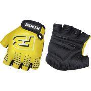 Luva Ciclista MTB Kode F3 Noban - Amarelo