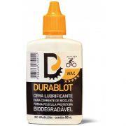 Óleo Lubrificante para Corrente de Bicicleta Durablot Wax Biodegradavél com Cera 50ml
