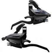 Par Alavancas Câmbio Shimano ST-EF500 21 Velocidades