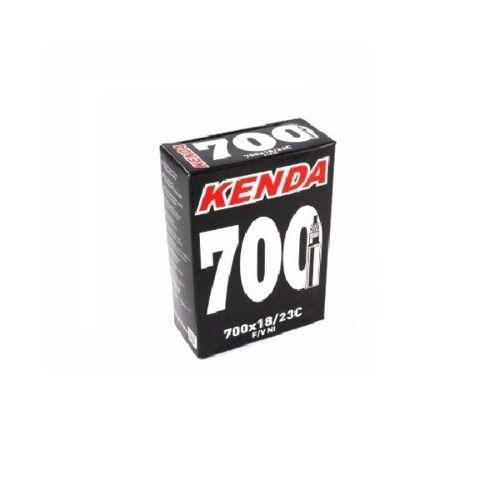 Par De Câmara Speed 80mm 700x18/23 Kenda Bico Longo