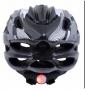 Capacete Com Sinalizador De Led Ciclismo Bike Element -52 A 60 CM Branco