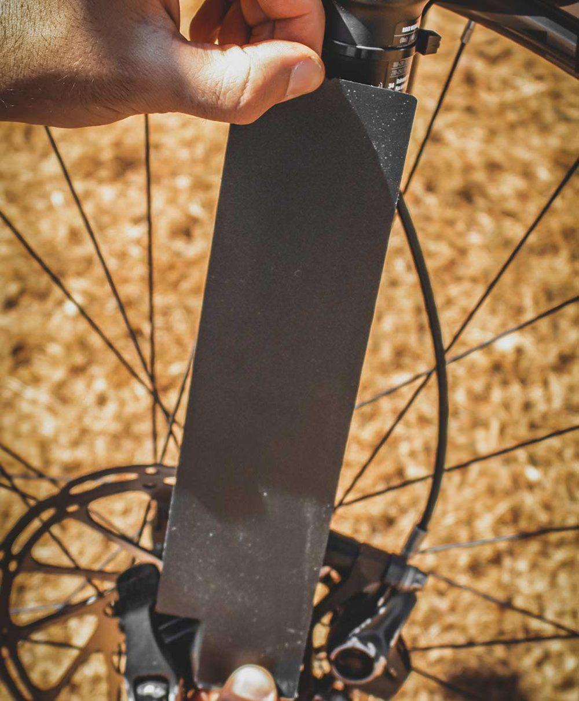 Adesivo Nomad Fork Para Proteção Suspensão Bike - Preto