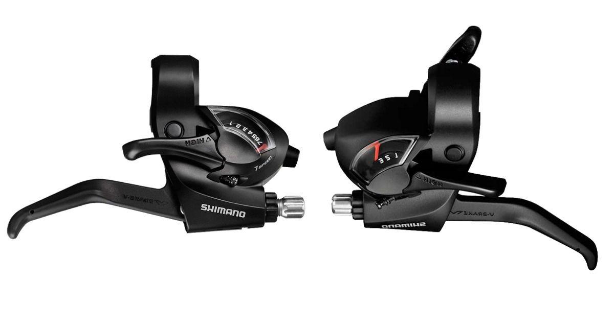 Alavanca de Câmbio Shimano Tourney ST-EF41 3x7 21V