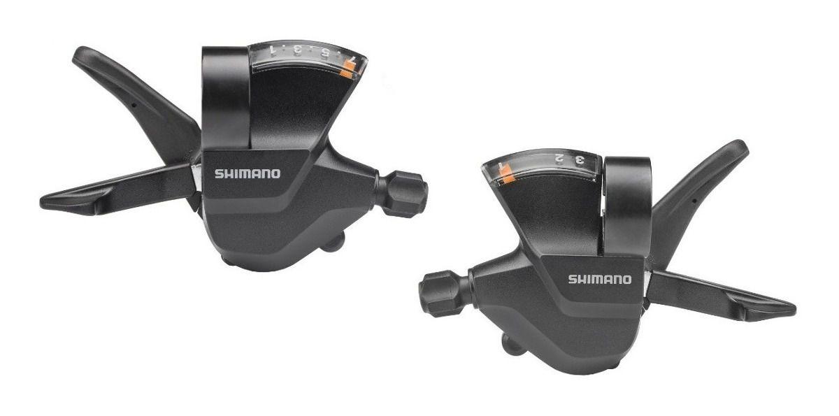 Alavanca Rapid Fire Shimano SL-M315 Altus 3x7 Velocidades