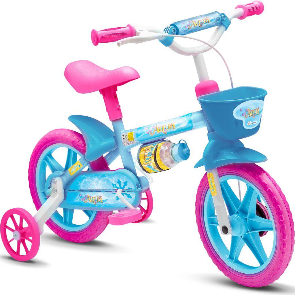 Bicicleta Aro 12  Feminina Nathor