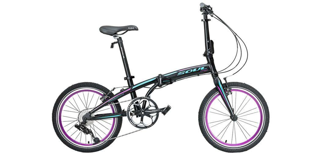 Bicicleta Aro 20 Dobrável 8v Soul New Klapp