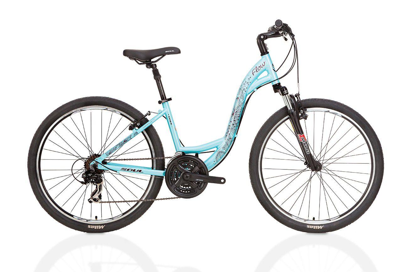 Bicicleta Aro 26 21v Shimano Feminina Flow Soul