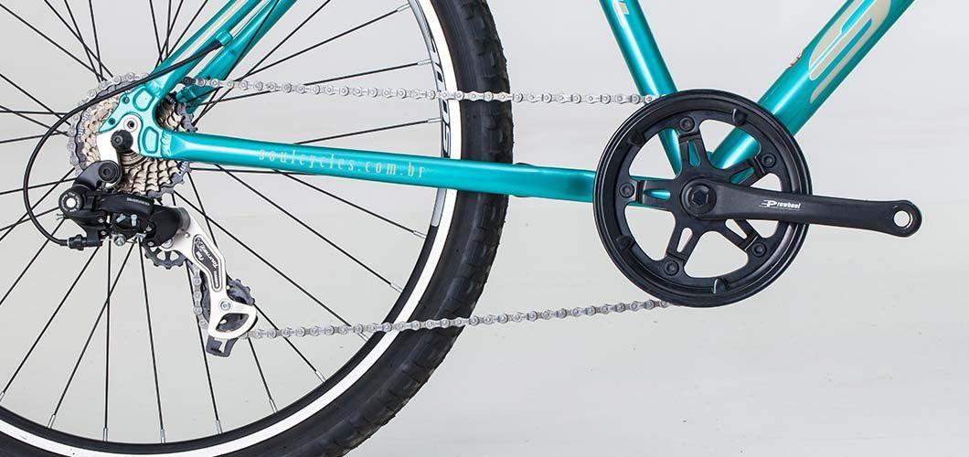 Bicicleta Aro 26 Soul Maresias 21v Shimano Tam 19