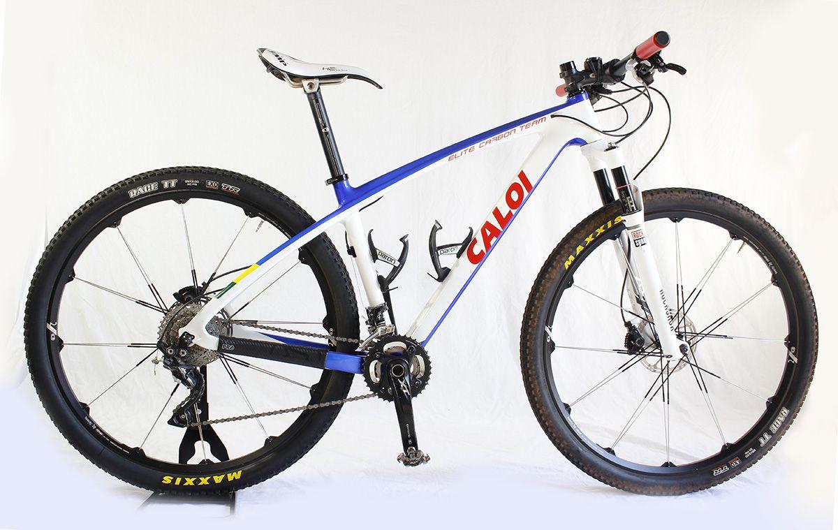 57db3576c Bicicleta Aro 29 Caloi Elite Carbon Team 20v T17 Roda Cobalt 2 - Loja Bike  Session
