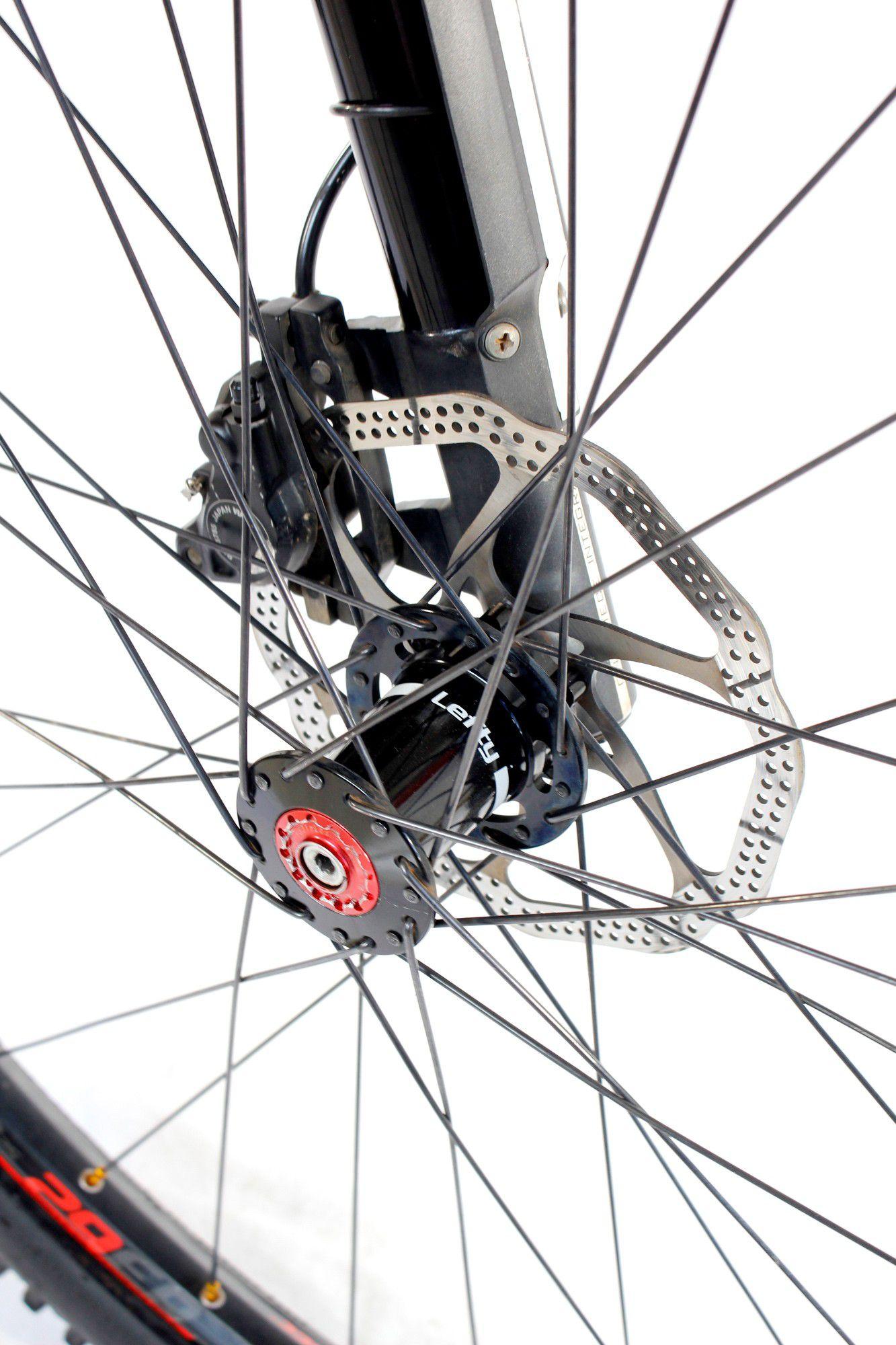 Bicicleta Aro 29 Cannondale Lefty Carbono XT  Tam 19 ( semi nova )