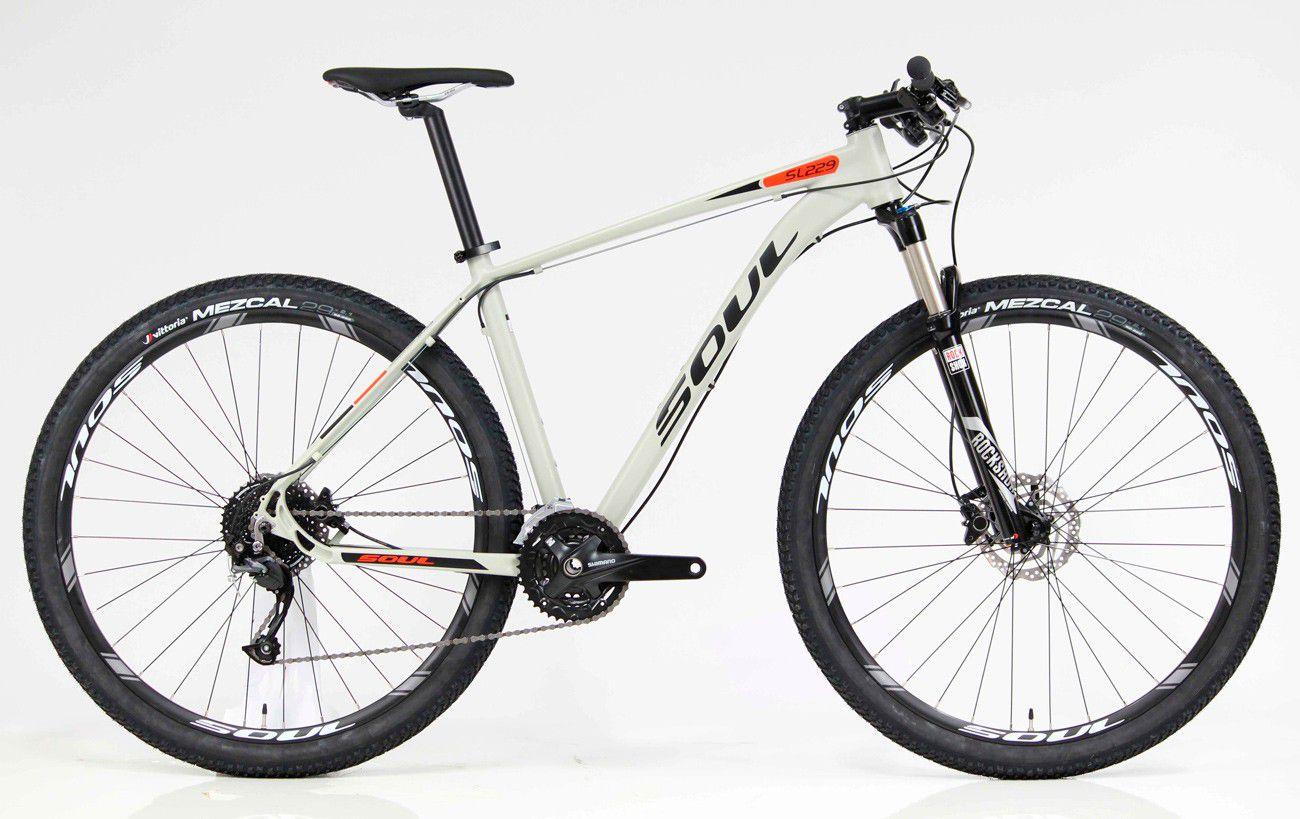 Bicicleta Aro 29 Shimano 27v Soul SL229 Altus 27V  2018