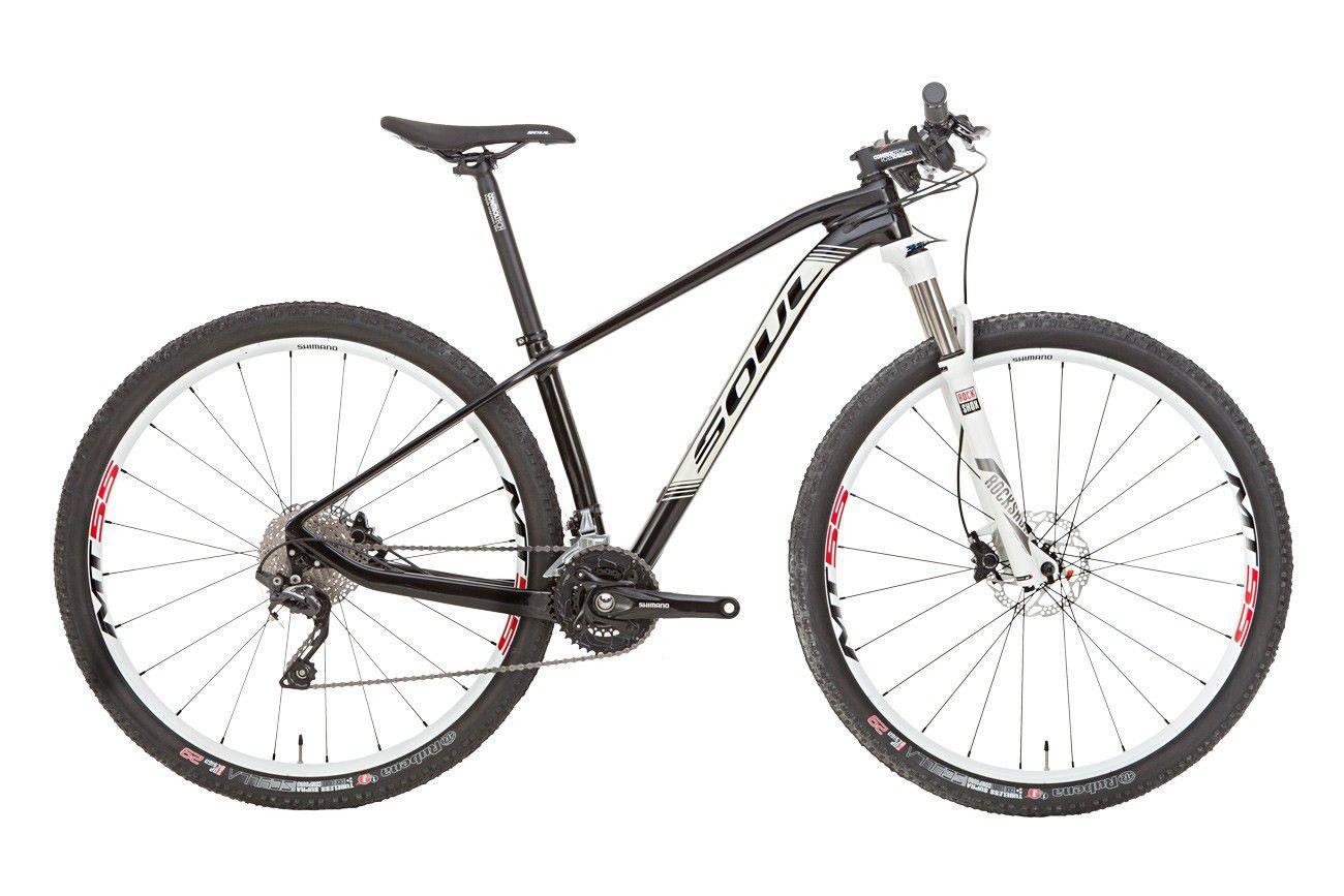 Bicicleta Aro 29  Soul Carbon Magma HT129