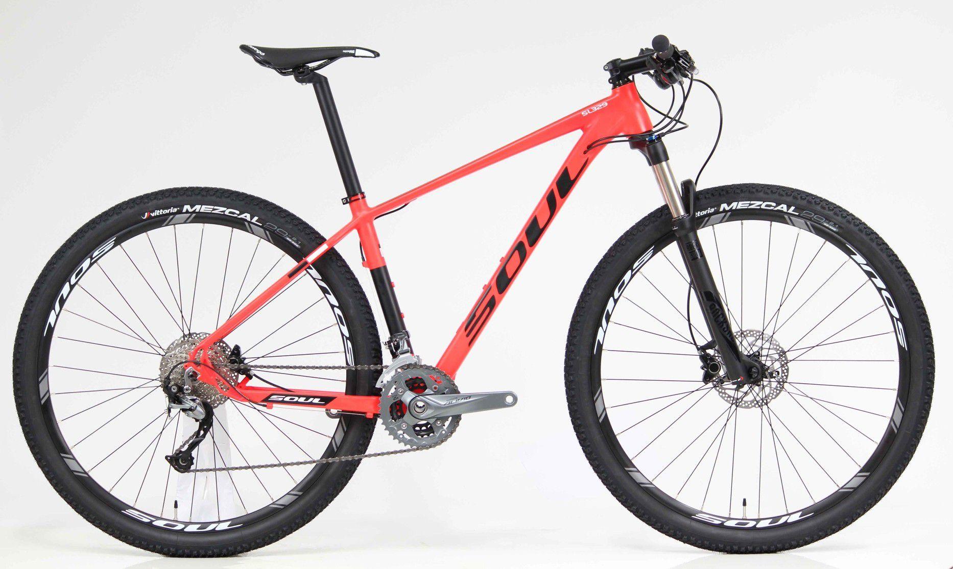 Bicicleta Aro 29 Soul SL329 27V Alivio Rock Shox Vmo 2018