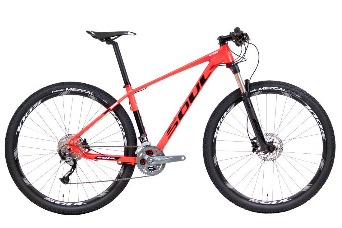 Bicicleta Aro 29 Soul SL329 27V Alivio Rock Shox Vmo
