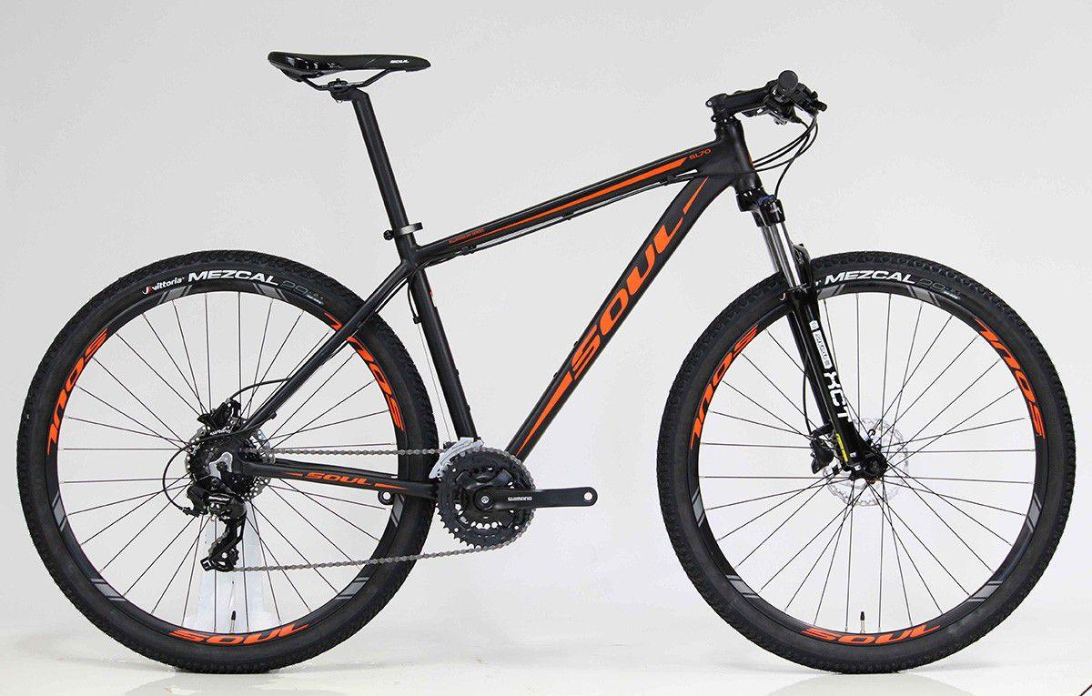 Bicicleta aro 29 Soul SL70 Shimano 24V Hidráulica