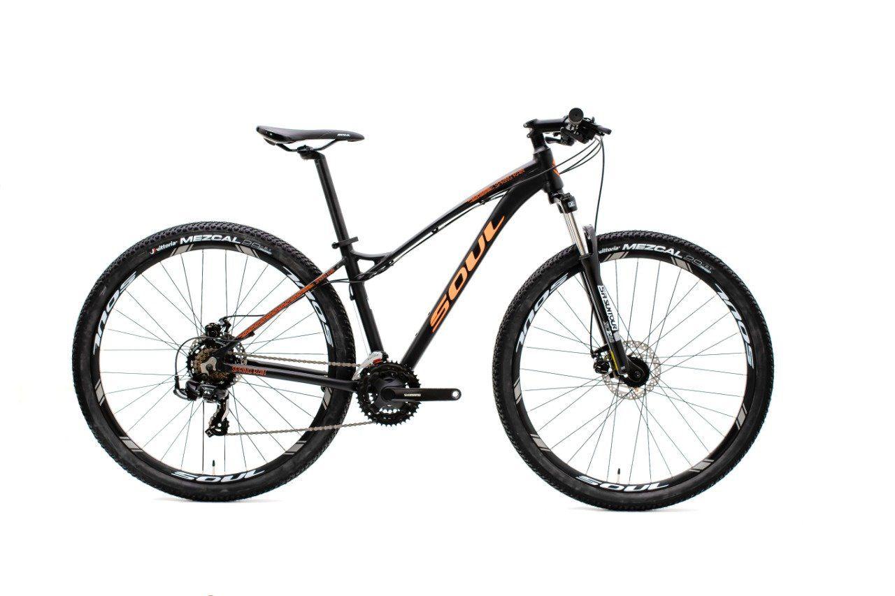 Bicicleta Aro 29 Soul Spring Rain 21v Shimano 2018
