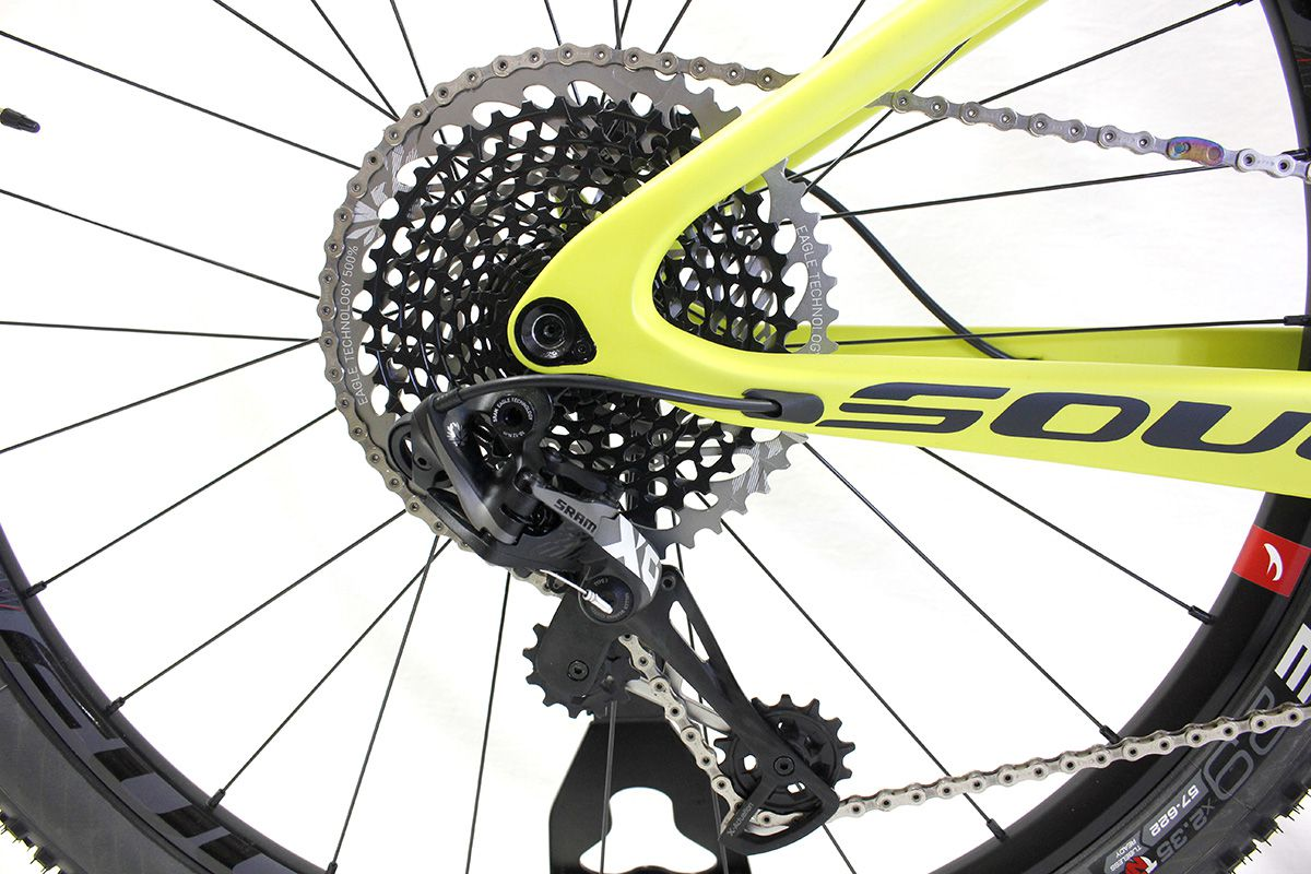 Bicicleta Aro 29 Soul Volcano Carbon 12V Sram xo Eagle