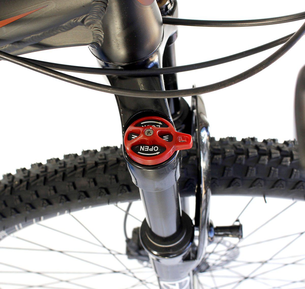 adc7acbaa ... Bicicleta Aro 29 Trust 24V Shimano Disco Hidráulico Vermelha Preto -  Loja Bike Session ...