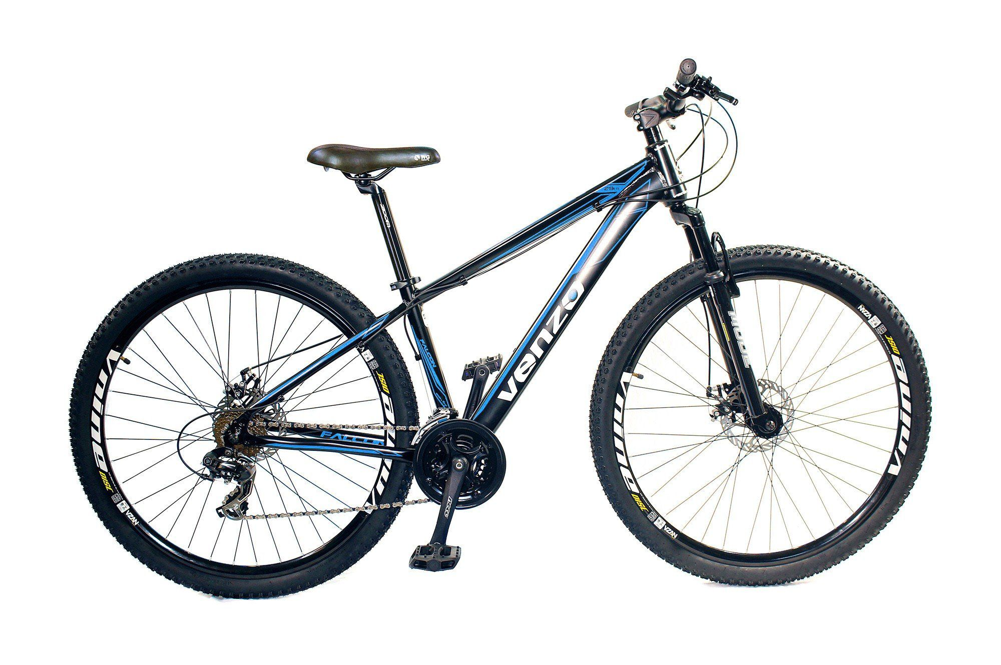 Bicicleta aro 29 Venzo Falcon 21v Shimano Aluminio Freio a Disco