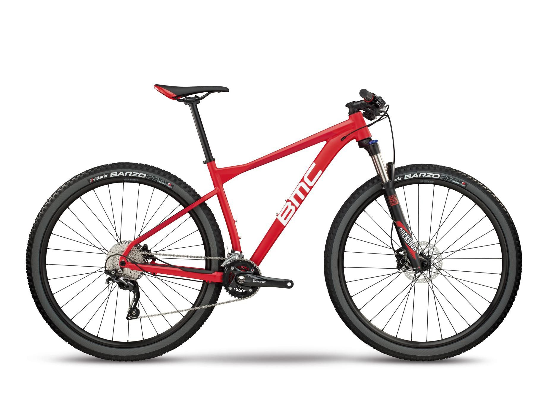 Bicicleta BMC aro 29 Team Elite 03 Three  2018 Vermelha