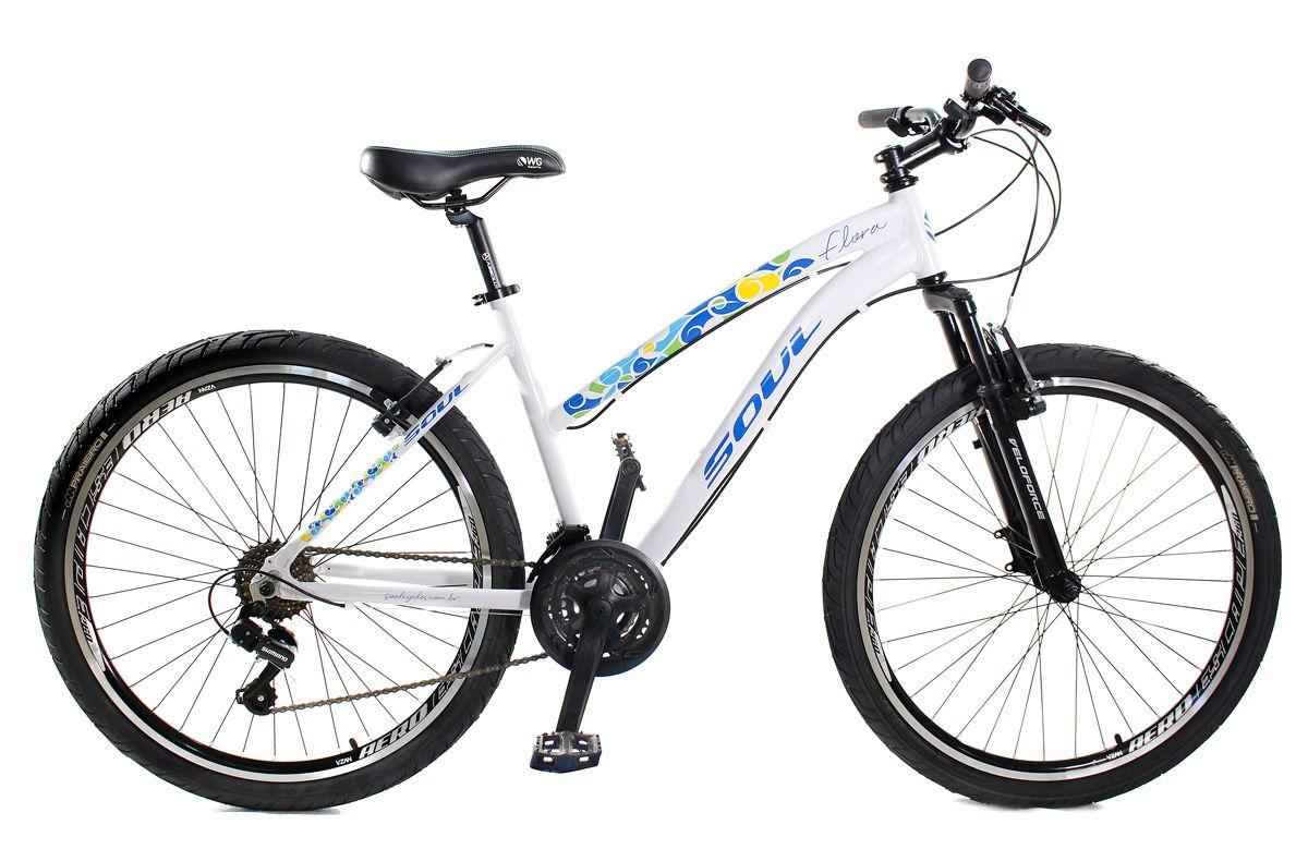 Bicicleta Feminina Aro 26 Soul Flora 21v Custom Bike Session