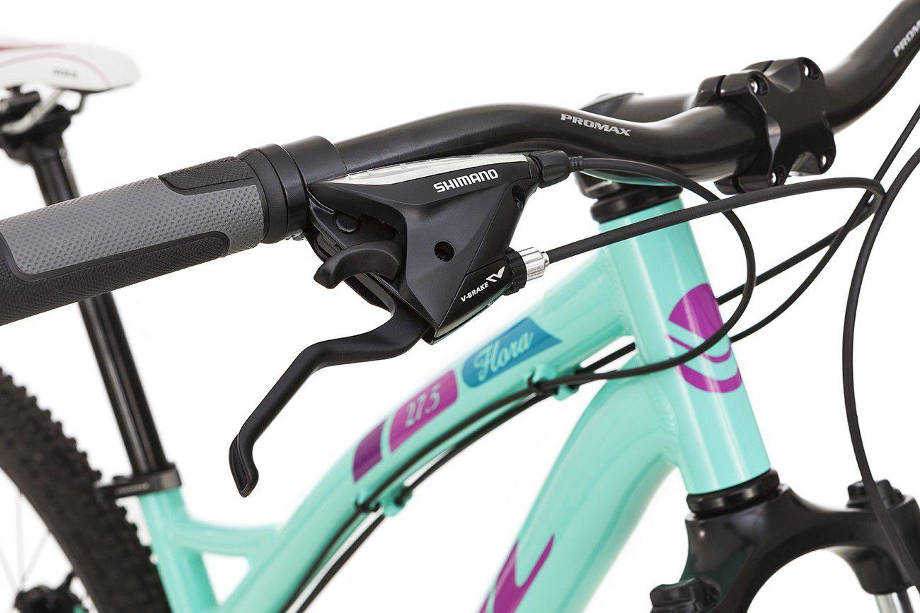 Bicicleta Feminina Aro 27.5 Soul Flora 24v Shimano Tam 17