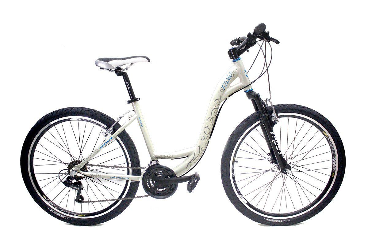 Bicicleta Feminina Soul Flow Aro 26 21v
