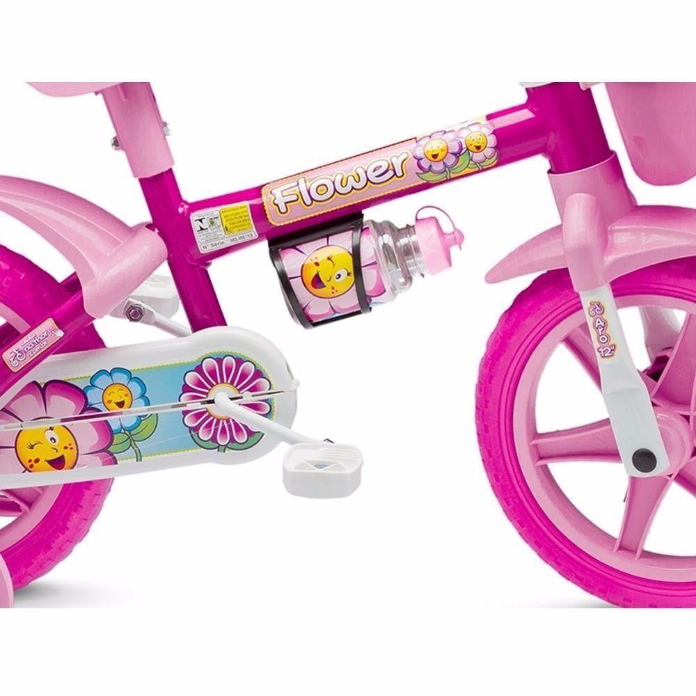 Bicicleta Infantil Aro 12 Flower Nathor Bikes