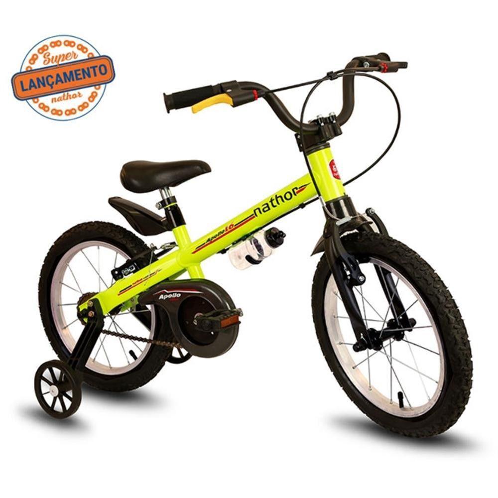 Bicicleta Infantil aro 16 modelo Apollo Nathor Bikes