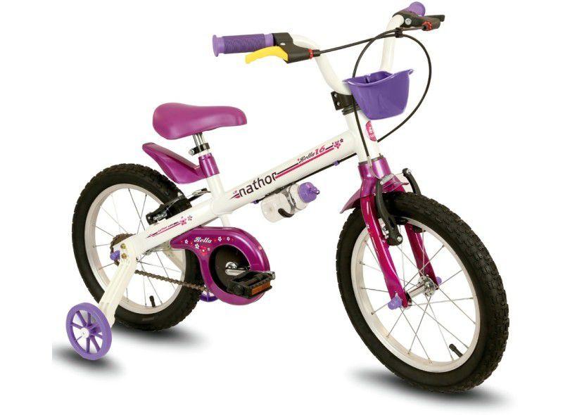 Bicicleta Infantil Aro 16 Bella Nathor Bikes