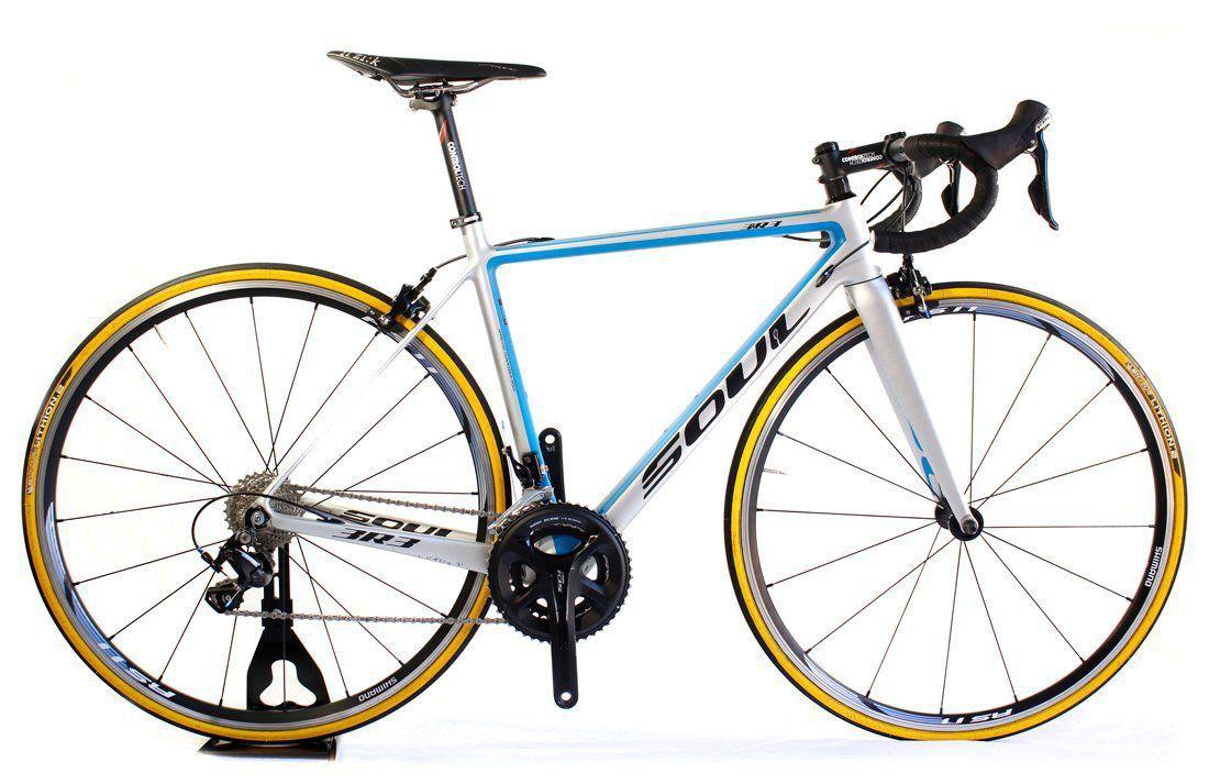 Bicicleta Speed Carbono Soul 3R3 Shimano 105 22v T50 ( semi-nova )