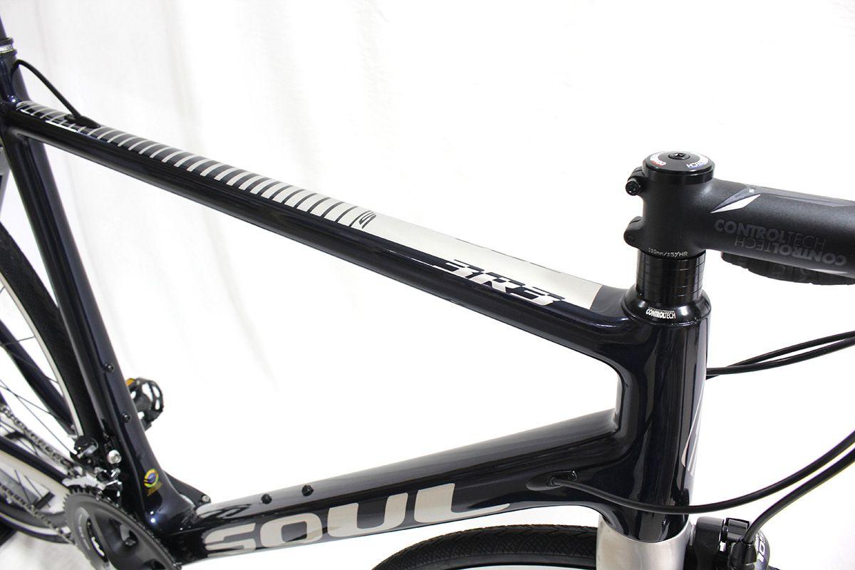 Bicicleta Speed Carbono Soul 3R3 Shimano 105 22v T56