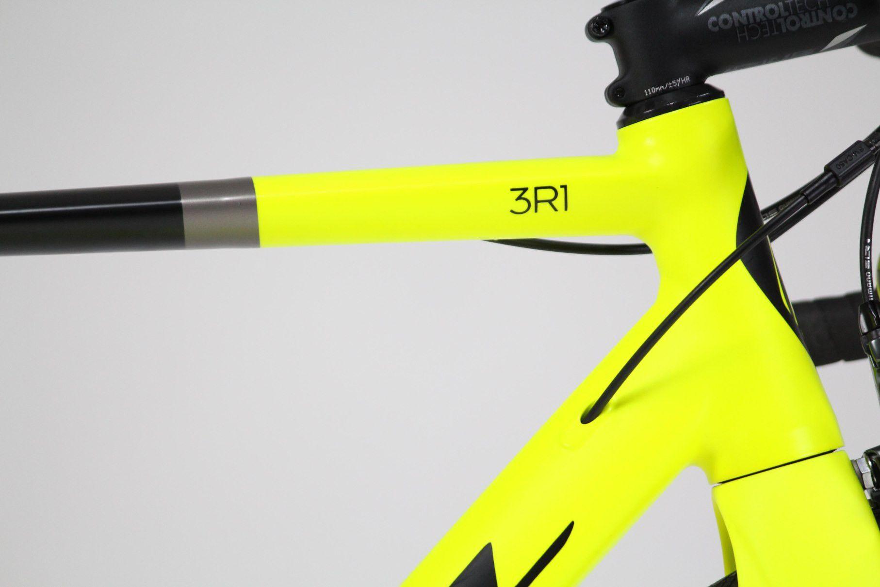 Bicicleta Speed Soul 3R1 Shimano Tiagra  20v Pto/Amarelo