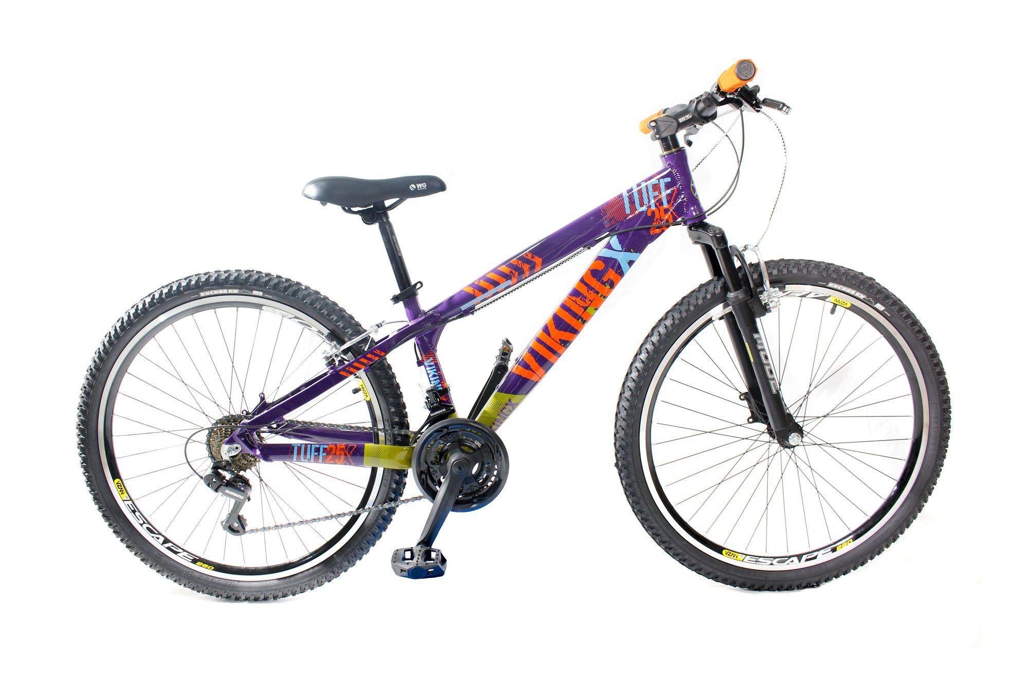 Bicicleta Vikingx Tuff Freeride Freio V-brake Café/Azul