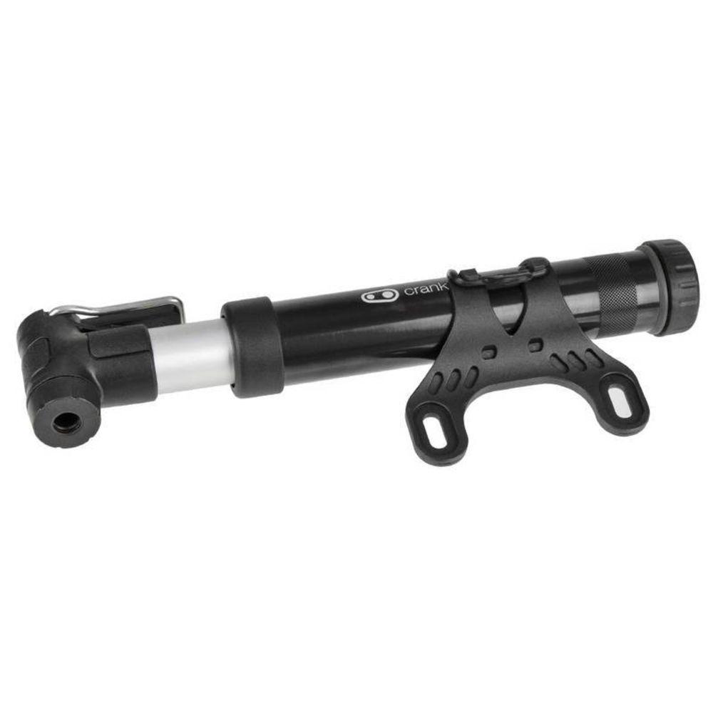 Bomba de Ar Bike Crank Brothers Pump Gem S 130PSI - Preta Fosca