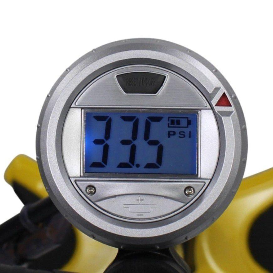 Bomba De Pé Serfas Floor Pump Digital FPD-200 160Psi