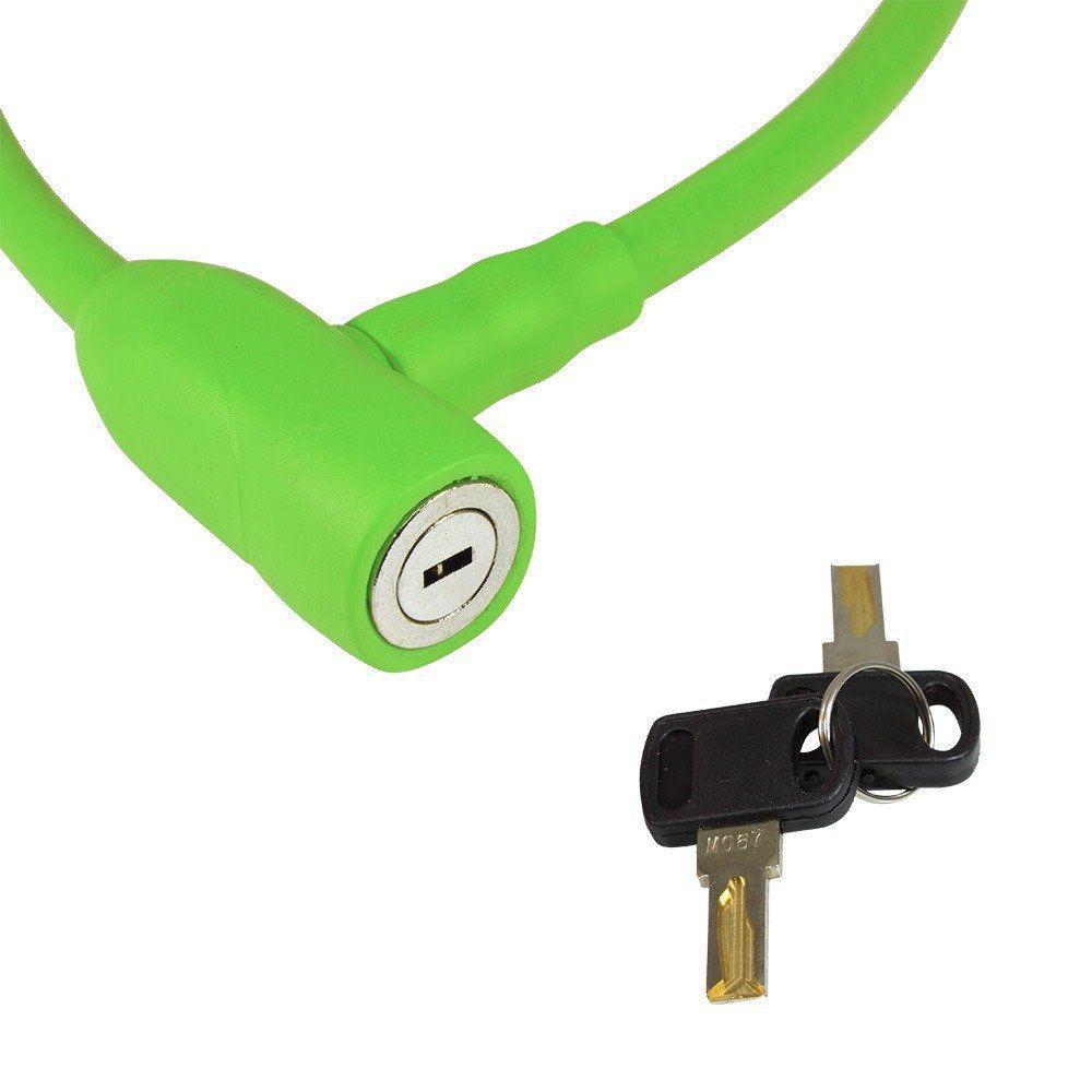 Cadeado Bicicleta X-Plore 12x600mm CL - 608 - Verde