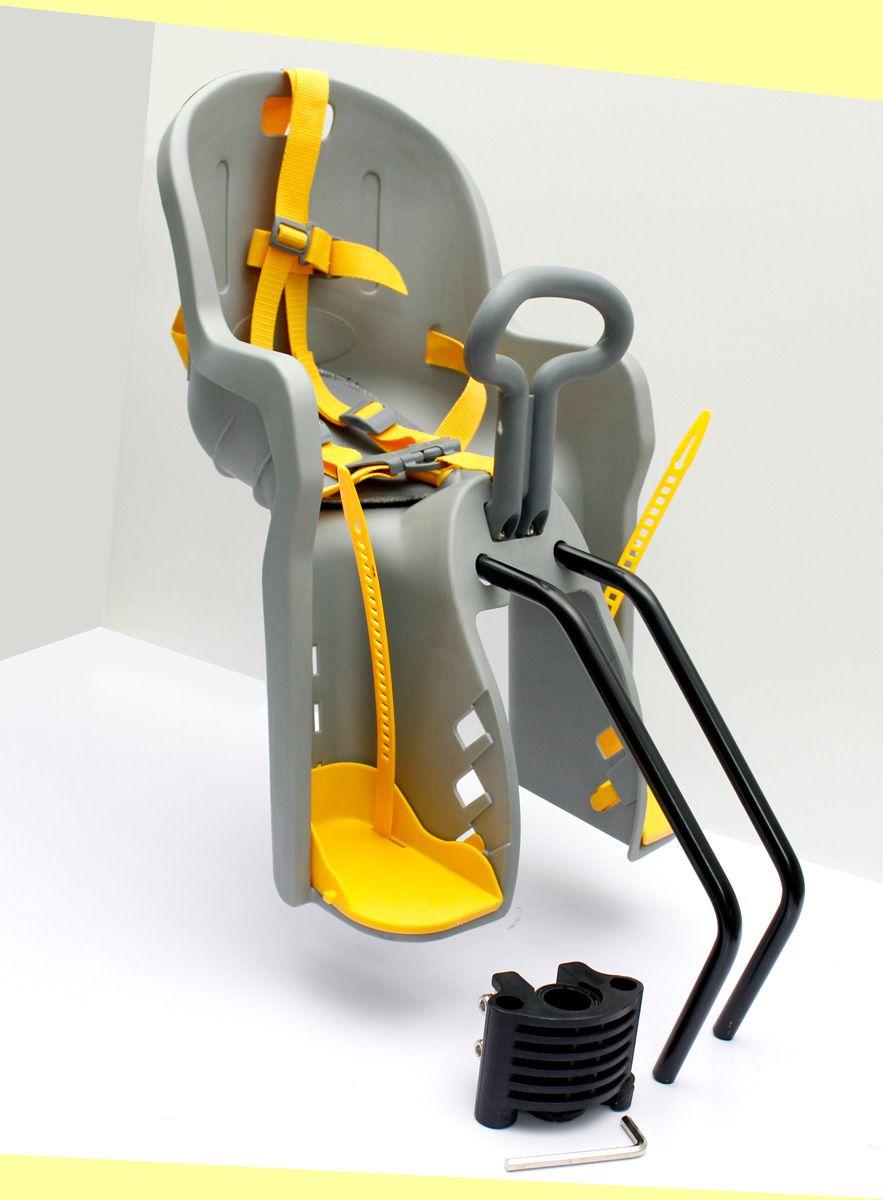 Cadeirinha Bicicleta Frontal Quadro Bike Infantil Elleven Luxo