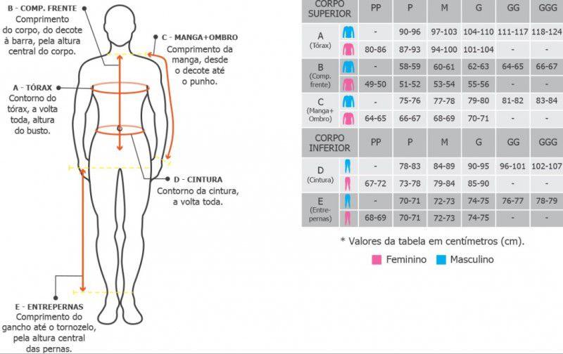 Calça Feminina Curtlo Térmica Skin Segunda Pele ThermoSkin