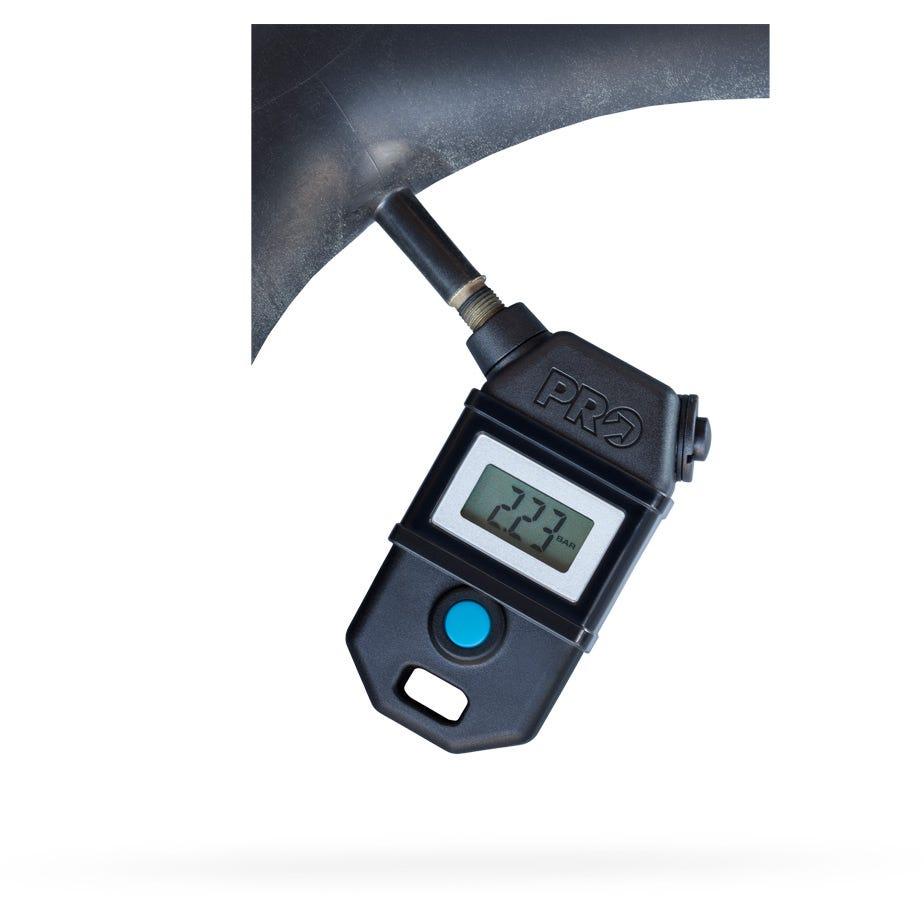 Calibrador Digital Shimano PRO Presta Schrader para Bicicletas