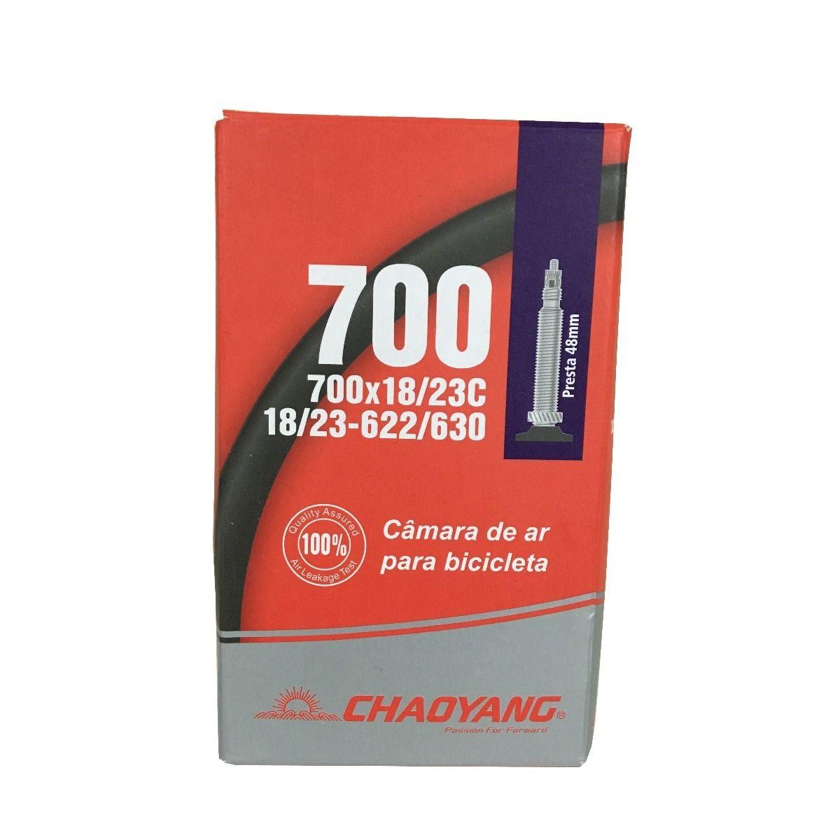 Câmara De Ar Chaoyang Speed 700x18/23c - Válvula Presta 48mm