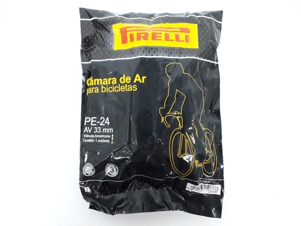 Câmara de Ar Pirelli  Aro 24'' PE-24 - 33 mm