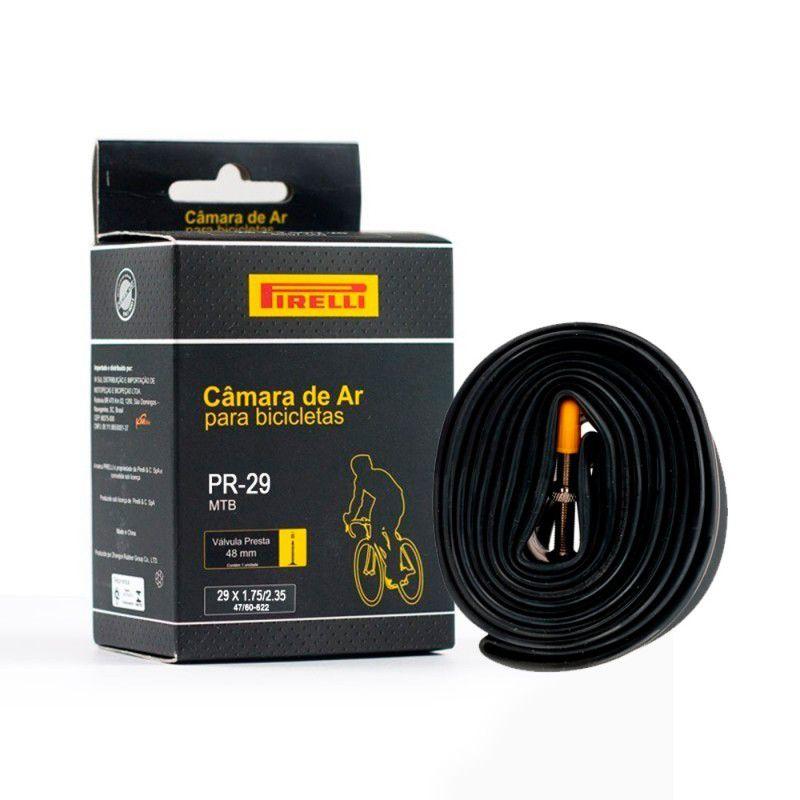 Câmara de Ar Pirelli  Aro 29x1.75/2.35 Válvula Presta