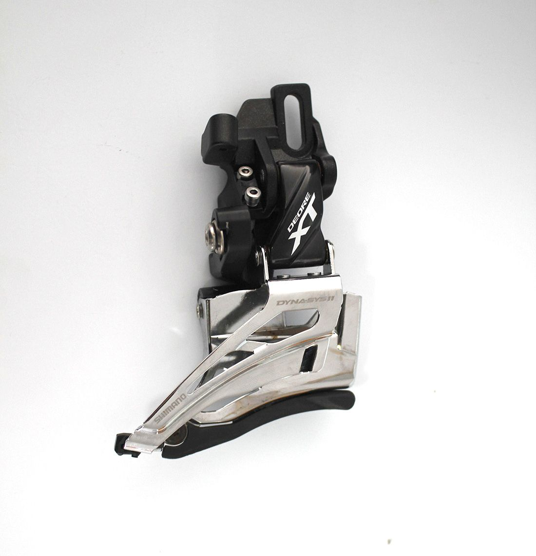 Câmbio Dianteiro Shimano Deore XT M8025 Dual Pull 2x11 - Semi Novo