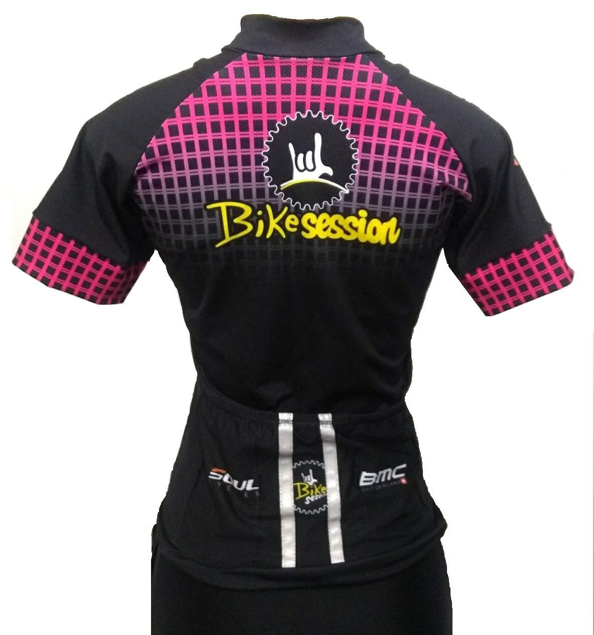 Camisa Ciclismo Bike Session Manga Curta Fem.